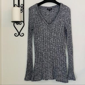 TopShop Marled Knit Sweater